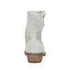 Kožené kotníčkové kozačky bata, šedá, 596-2653 - 17