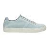 Kožené dámské tenisky bata, modrá, 523-9601 - 15