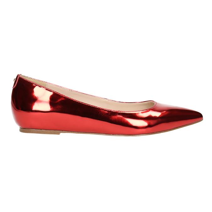 Červené baleríny do špičky bata, 2020-521-5603 - 15