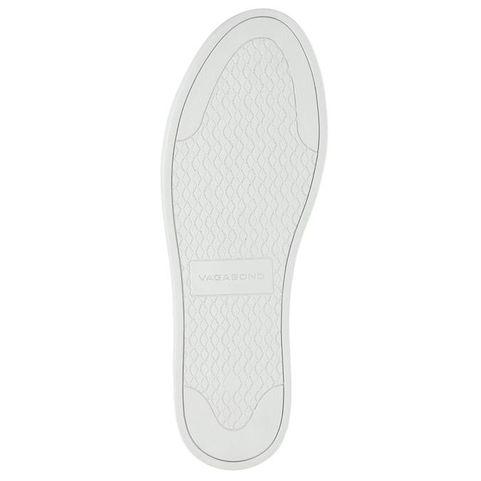 Bílé kožené tenisky vagabond, bílá, 624-1007 - 26