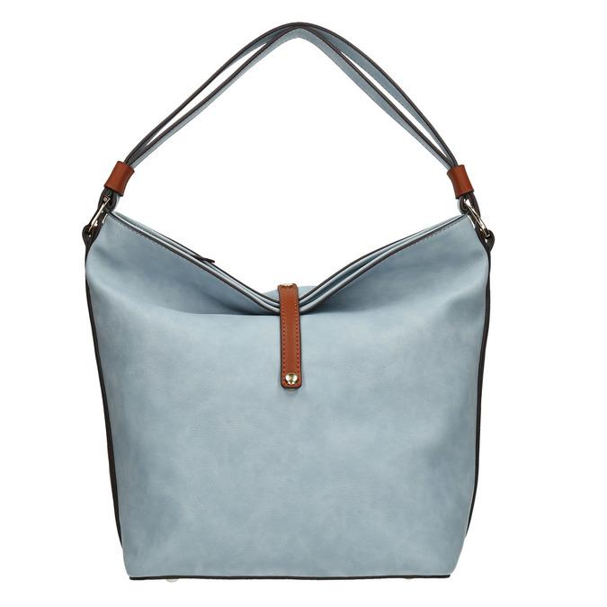 Modrá kabelka v Hobo stylu bata, modrá, 961-9705 - 26