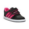 Dětské tenisky na suché zipy adidas, černá, 101-5254 - 13