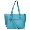Modrá Shopper kabelka gabor-bags, tyrkysová, 961-9074 - 19