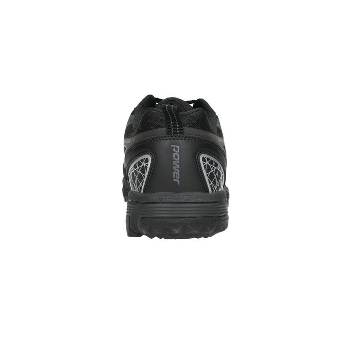 Černé sportovní tenisky power, černá, 809-6161 - 17