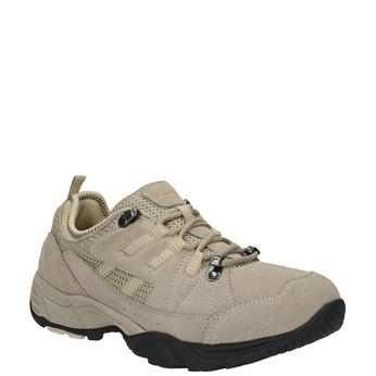 Dámské kožené Outdoor boty power, hnědá, 503-3118 - 13
