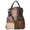 Kožená kabelka do ruky a-s-98, hnědá, 966-4041 - 19