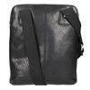 Kožená pánská Crossbody taška bata, černá, 964-6237 - 26