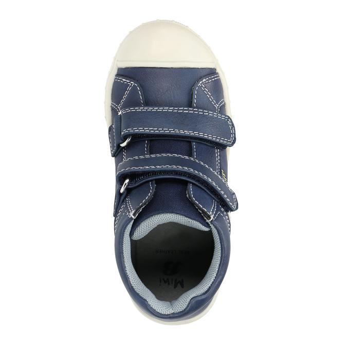 Kotníčkové dětské tenisky mini-b, modrá, 211-9606 - 19