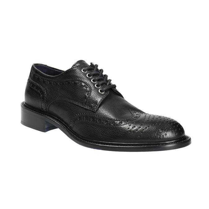 Kožené pánské polobotky bata-the-shoemaker, černá, 824-6292 - 13