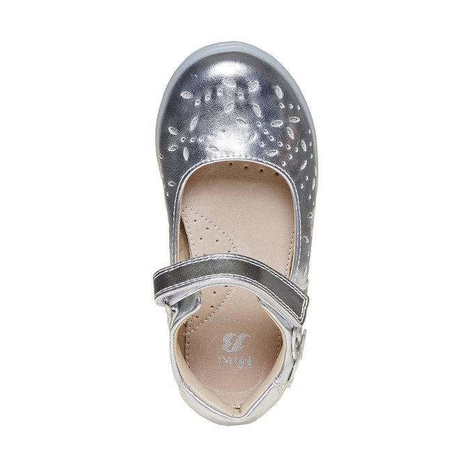 Stříbrné dětské baleríny mini-b, stříbrná, 221-2169 - 19