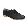Dámské polobotky s perforací bata, černá, 526-6619 - 13