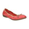 Červené baleríny s pružným lemem bata, červená, 526-5617 - 13