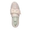 Kožená Slip-on obuv s mašlí bata, růžová, 516-5605 - 19