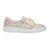 Kožená Slip-on obuv s mašlí bata, růžová, 516-5605 - 15