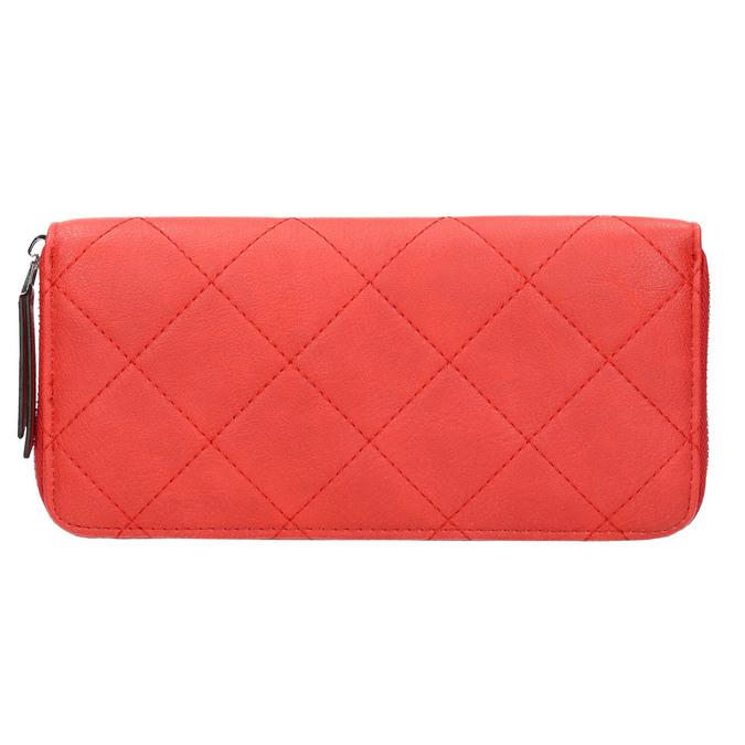 Červená peněženka s řetízkem bata, červená, 941-5146 - 19