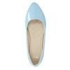 Světle modré dámské baleríny bata, modrá, 521-9602 - 19