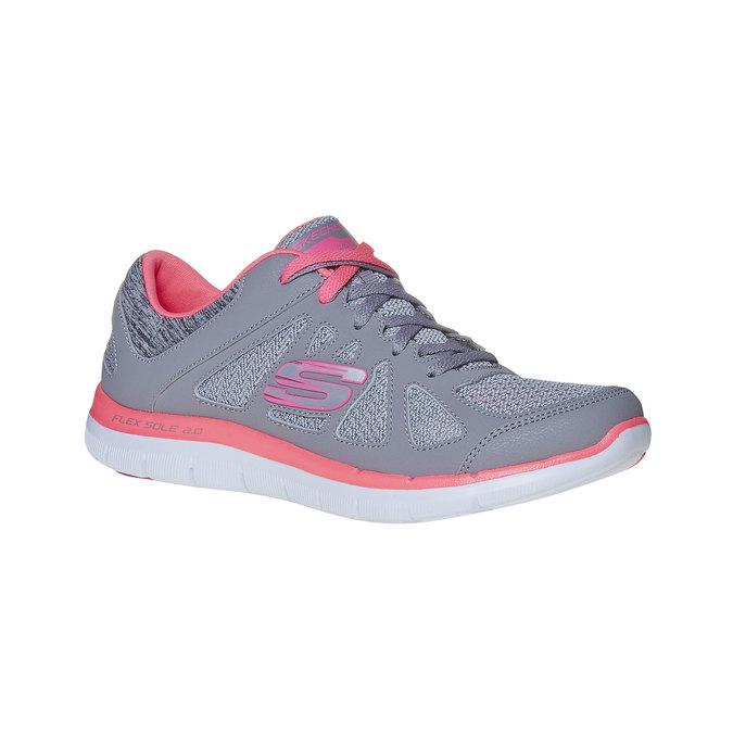 Dámské sportovní tenisky skechers, šedá, 509-2963 - 13