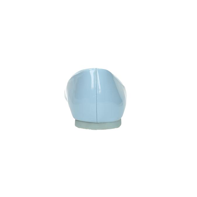 Světle modré dámské baleríny bata, modrá, 521-9602 - 17