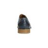 Modré kožené polobotky bata, modrá, 826-9801 - 17