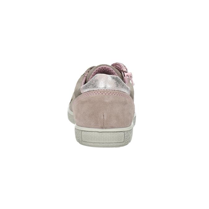 Dětské kožené tenisky mini-b, béžová, 323-5600 - 17