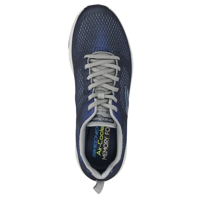 Pánské tenisky s paměťovou pěnou skechers, modrá, 809-9141 - 19