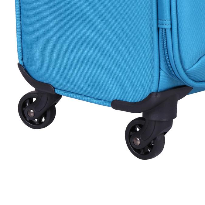 Tyrkysový cestovní kufr american-tourister, modrá, 969-7172 - 19