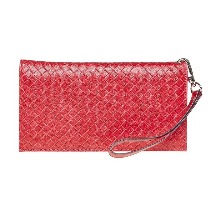 Červená peněženka s poutkem bata, červená, 941-5148 - 26