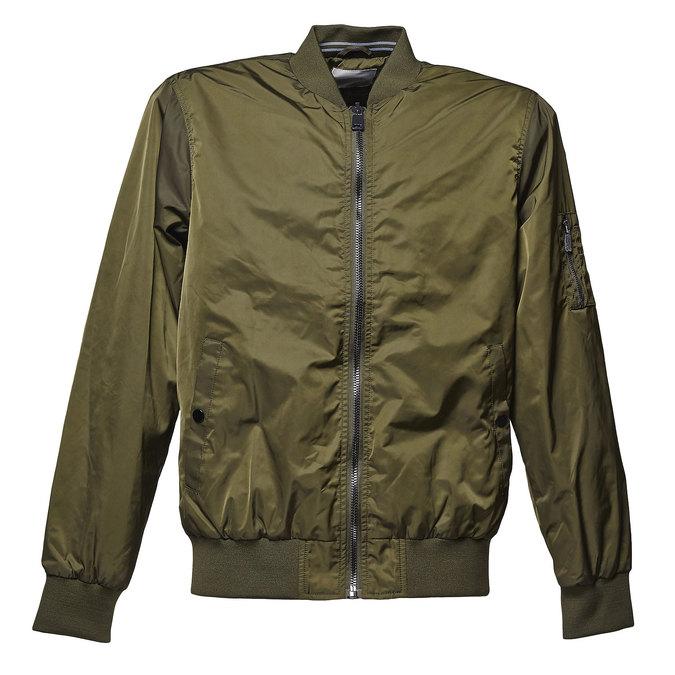 Pánská bunda v Bomber stylu bata, khaki, 979-7261 - 13
