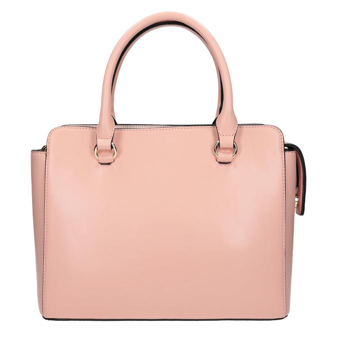 Růžová dámská kabelka bata, růžová, 961-8747 - 26