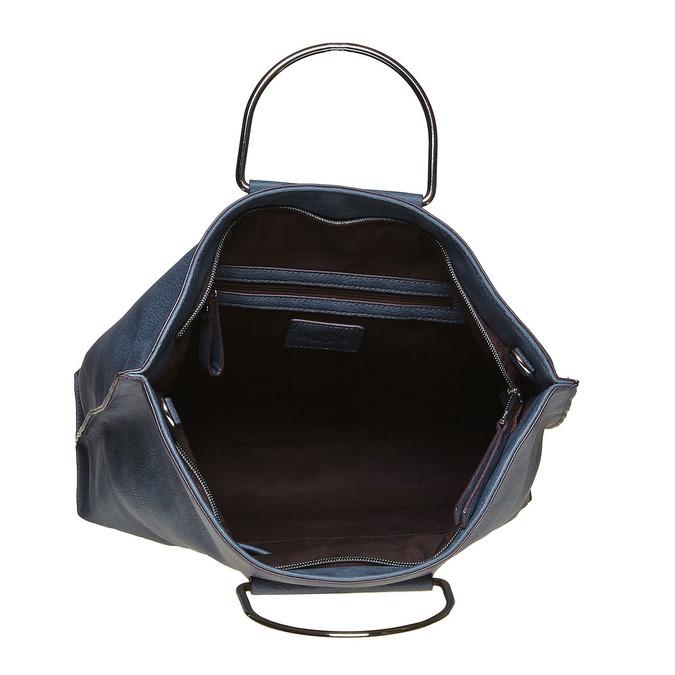 Modrá dámská kabelka bata, modrá, 961-9327 - 15