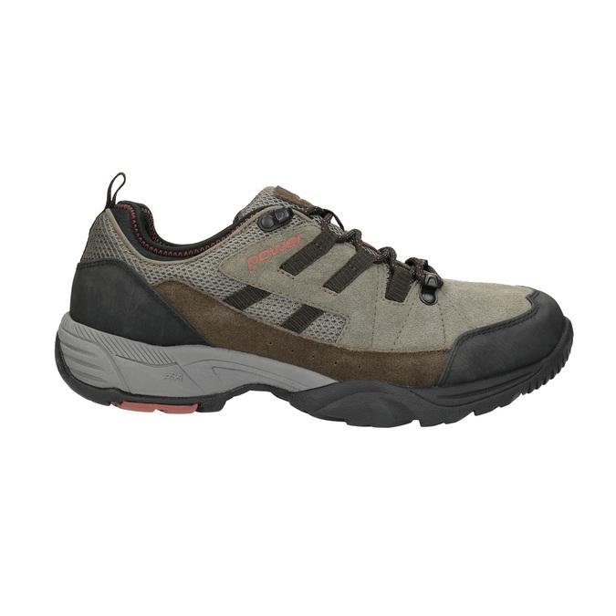 Kožená Outdoor obuv power, hnědá, 803-4118 - 15