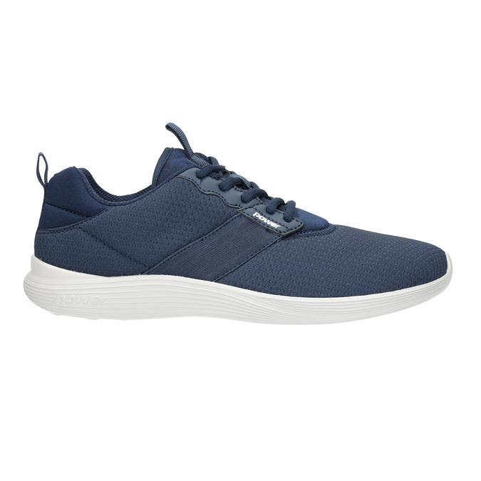Modré pánské tenisky power, modrá, 809-9175 - 15