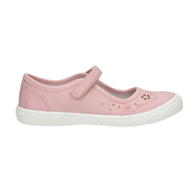 Dívčí růžová obuv mini-b, růžová, 221-5604 - 15