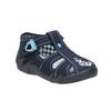 Dětská domácí obuv modrá mini-b, modrá, 179-9600 - 13