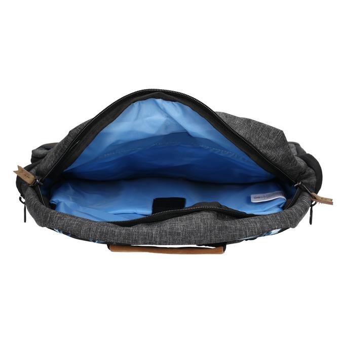 Šedý batoh quiksilver, šedá, 969-2035 - 15
