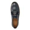 Ležérní kožené polobotky bata, modrá, 846-9619 - 19