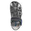 Kožené chlapecké sandály richter, modrá, 114-9019 - 19