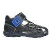 Kožené chlapecké sandály richter, modrá, 114-9019 - 15