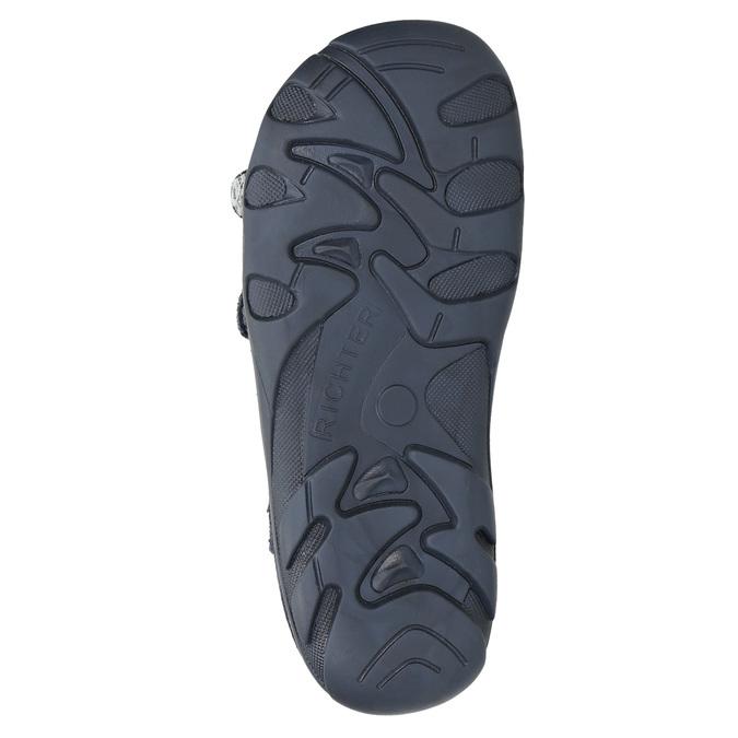 Kožené chlapecké sandály richter, modrá, 113-9024 - 26