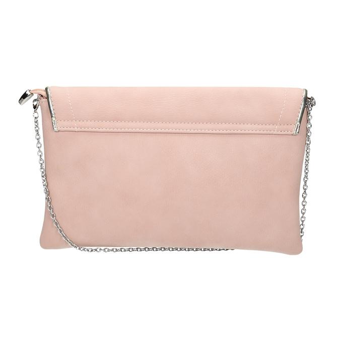 Růžové psaníčko bata, růžová, 961-5708 - 19
