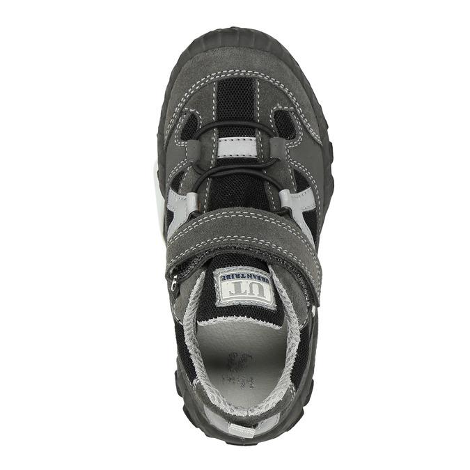 Dětské tenisky na suchý zip mini-b, šedá, 413-2602 - 19