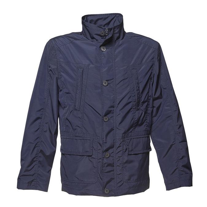 Pánská jarní bunda bata, modrá, 979-9276 - 13