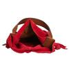 Červená kožená kabelka bata, červená, 963-5103 - 15