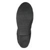 Dámské baleríny s pružným lemem bata, černá, 521-2601 - 26