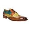 Pánské kožené polobotky v Derby stylu melvinandhamilton, vícebarevné, 826-0052 - 13