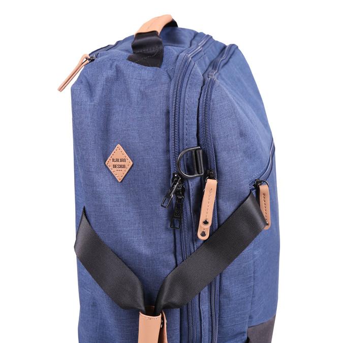 Cestovní taška na kolečkách roncato, modrá, 969-9646 - 17
