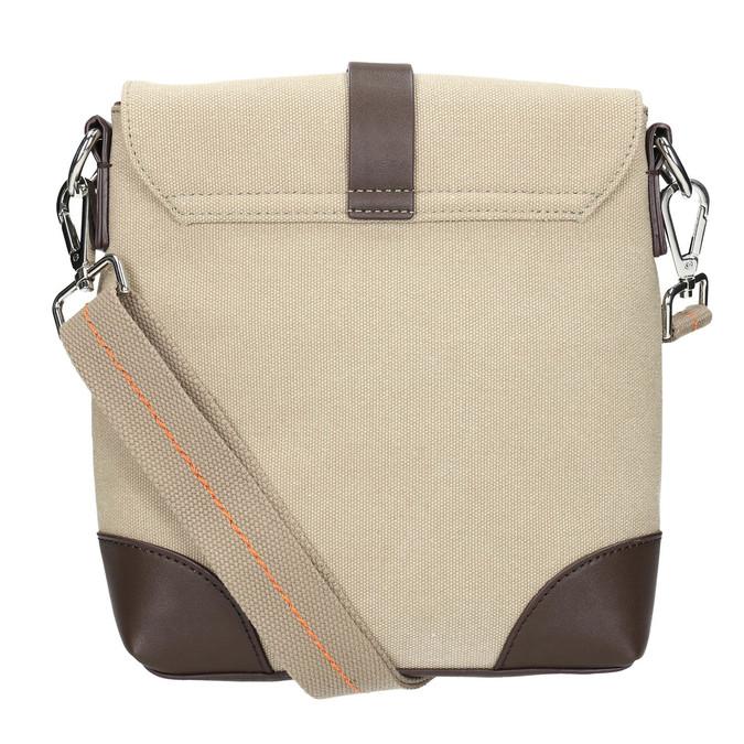 Pánská taška ve stylu Crossbody bata, béžová, 969-8284 - 26