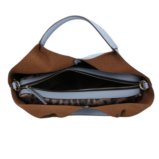 Modrá dámská kabelka bata, modrá, 961-9704 - 15