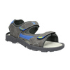 Dětské sandály na suché zipy mini-b, šedá, 461-2605 - 13