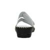 Kožená domácí obuv comfit, bílá, 674-1600 - 17